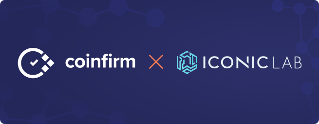 iconic lab coinfirm blockchain crypto analytics
