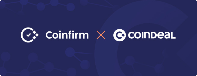 Coindeal integrates Coinfirm's AML Platform ahead of AMLD5