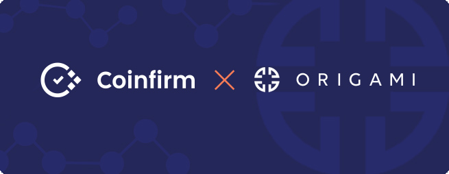 Origami integrates Coinfirm's AML platform