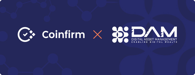 DAM integrates Coinfirm AMl solutions
