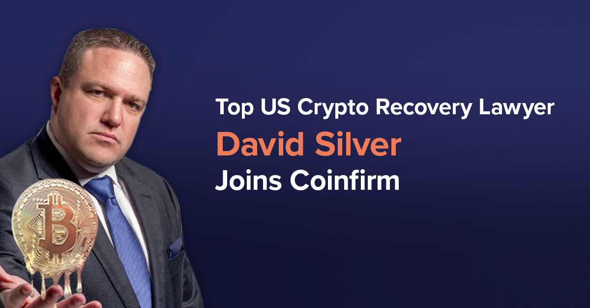 crypto recovery lawyer david silver joins coinfirm
