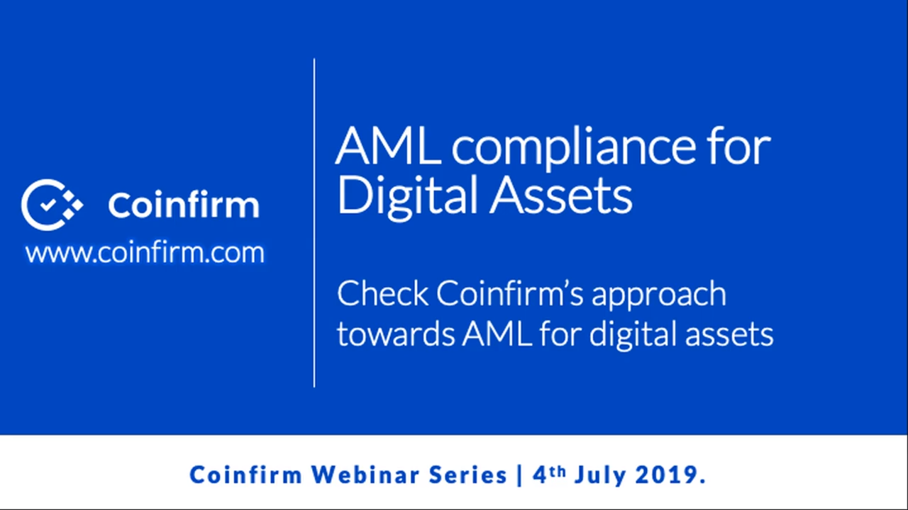 AML Compliance for Digital Assets - Coinfirm