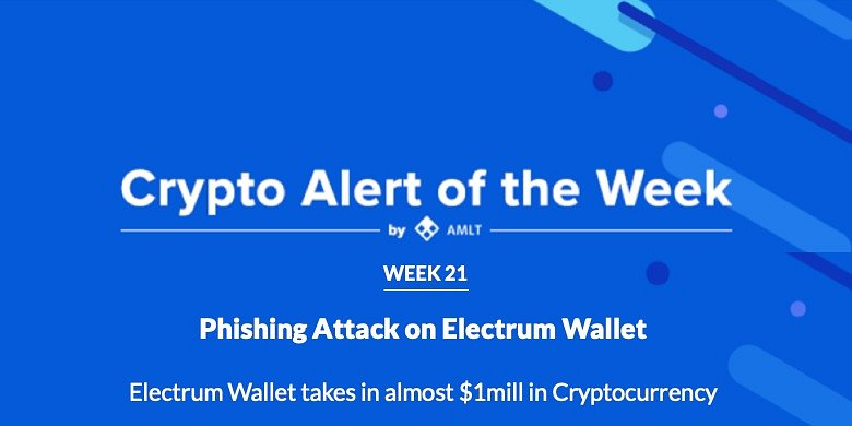 Phishing Attack Electrum Wallet