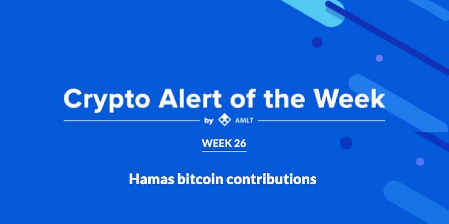 Hamas bitcoins originate from wallets on crypto exchange