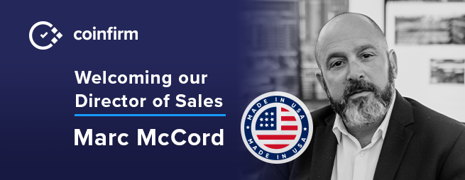 Marc McCord USA Coinfirm Director Sales