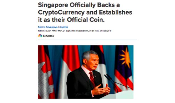 Fake Singapore Coin