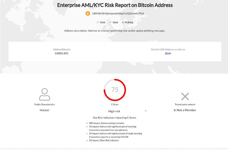 Phishing Attack Electrum Wallet