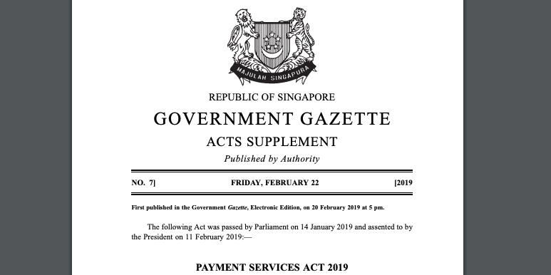 bitcoin trading legal singapūre
